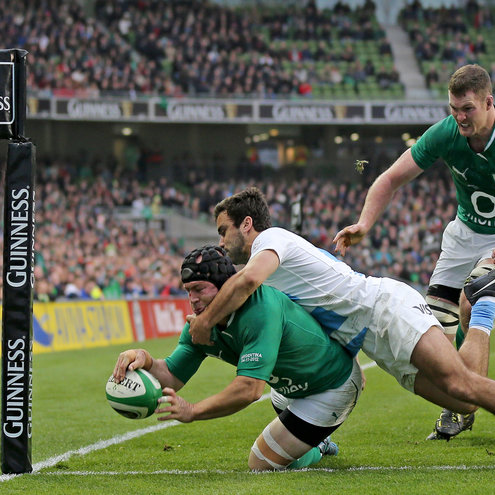 Photos of Ireland's GUINNESS Series triumph over the Pumas
