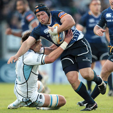 Richardt Strauss in action for Leinster