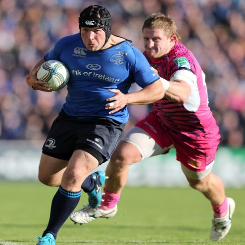 Photos of Leinster's Heineken Cup opener against Exeter Chiefs