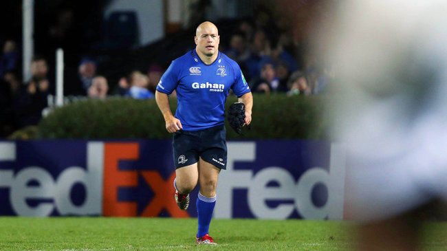 Leinster hooker Richardt Strauss