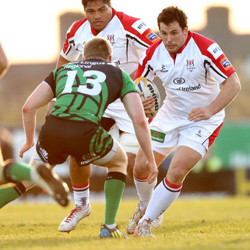 Ricky Lutton in action for Ulster