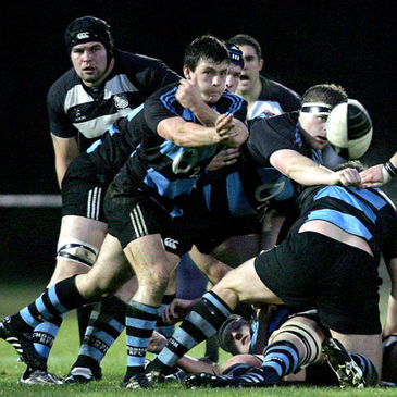 Scrum half Rob Guerin in action for Shannon