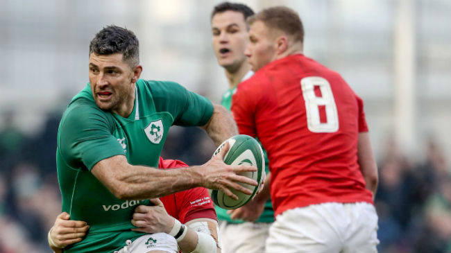 Irish Rugby TV: Rob Kearney On Ireland's 5 Try Win
