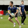 Rob Kearney was ever-present in Leinster's opening seven games of their Heineken Cupo charge before missing the semi-final due to the mumps