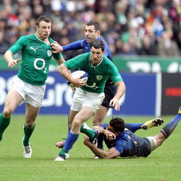 Rob Kearney turned in another superb individual display in the green jersey