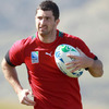 Pictured with ball in hand, the fit-again Rob Kearney is determined to make his mark on the Rugby World Cup after missing a large chunk of last season