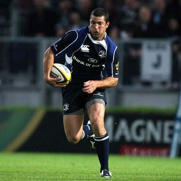 Rob Kearney in Magners League action for Leinster