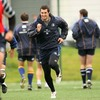 Rob Kearney warms up for training - the Louth native was one of few Leinster players to impress against Connacht