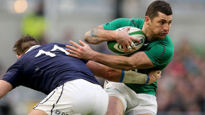 Ireland 28 Scotland 6, Aviva Stadium, Sunday, February 2, 2014