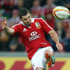 Rob Kearney, who is hoping to feature in the remaining Test matches for the Lions, is pictured clearing the ball downfield