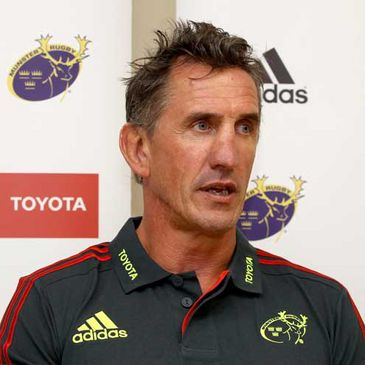 New Munster head coach Rob Penney