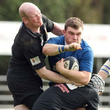 Mary's prop Rob Sweeney holds onto possession