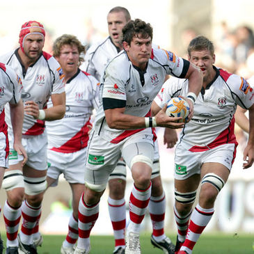 Robbie Diack leads the charge for Ulster