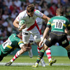 South African flanker Robbie Diack keeps Ulster on the front foot as they try to recover from leaking that early try