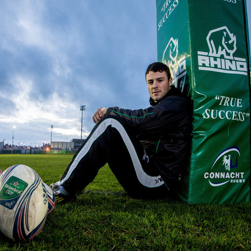 Connacht full-back Robbie Henshaw