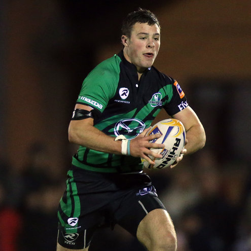 Robbie Henshaw in action for Connacht
