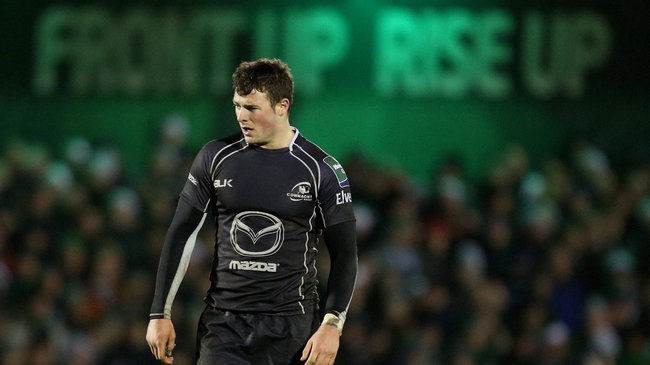 Connacht and Ireland's Robbie Henshaw