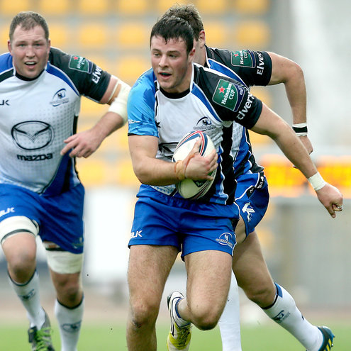 Robbie Henshaw in Heineken Cup action for Connacht