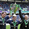 Three of world rugby's best players and three Leinster legends: Rocky Elsom, Brian O'Driscoll and Felipe Contepomi