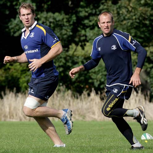 Leinster Squad Training At Belfield, UCD, Tuesday, September 23, 2008