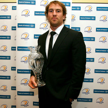 Leinster's Player of the Year Rocky Elsom