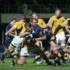 The misery was piled on for Wasps in the second half as flanker Rocky Elsom barged over for Leinster's fifth try