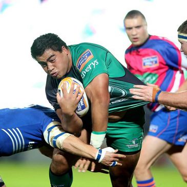Rodney Ah You in action for Connacht