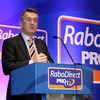 Roel van Veggel, the General Manager of RaboDirect in Ireland, addressed those in attendance at the press conference in Dublin