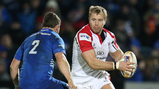Ulster's Roger Wilson in action against Leinster