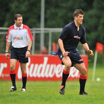 Alain Rolland and Donncha O'Callaghan