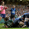 However, Leinster could not hold out as Saints skipper Dylan Hartley burrowed his way over for a try from close range
