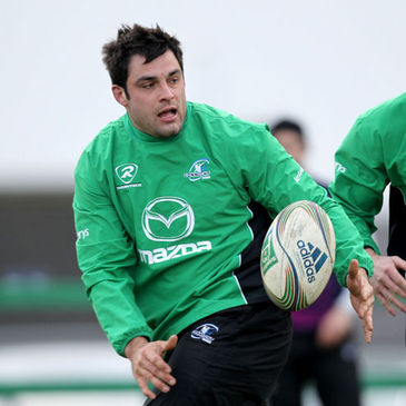 Connacht prop Ronan Loughney