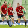The fit-again Geordan Murphy, Andrew Trimble and Ronan O'Gara have been named in the Ireland team for Saturday's encounter with Martin Johnson's England side