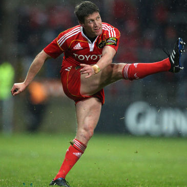 Ronan O'Gara is included in Munster's extended squad