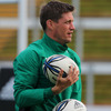 Ronan O'Gara is looking forward to going head-to-head with Dan Carter whom he rates as the best out-half in the world