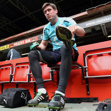 Ronan O'Gara at the Millennium Stadium