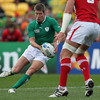 Out-half Ronan O'Gara came into the game already holding the Irish record for points against Wales - 95 points
