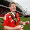 Out-half Ronan O'Gara has scored in all 23 of the league and cup games he has played for Munster this season