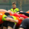 Ronan O'Gara picked up a facial injury in the victory over Leinster, during which he kicked seven penalty goals