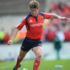 Munster out-half Ronan O'Gara had a brilliant day with the boot, landing four conversions and three penalty goals