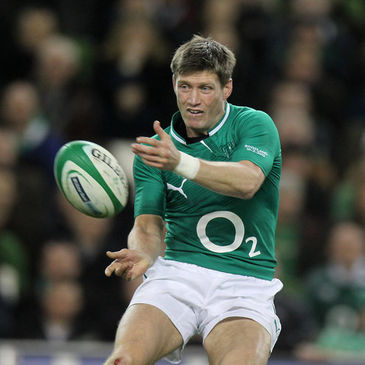 Ireland's record-breaking out-half Ronan O'Gara