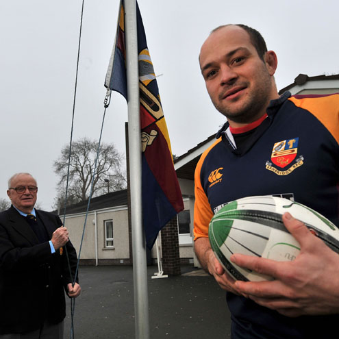 Ireland Captain Rory Best