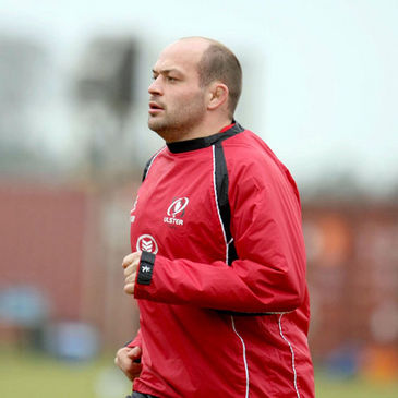 Rory Best training with Ulster this week