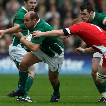 Rory Best in action against Wales last year