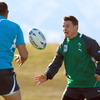 Despite the recent run of defeats, Brian O'Driscoll said: 'We're not bringing any scars from the last month with us, it's all about the start of the World Cup.'