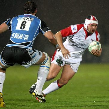 Rory Best in action against Glasgow Warriors