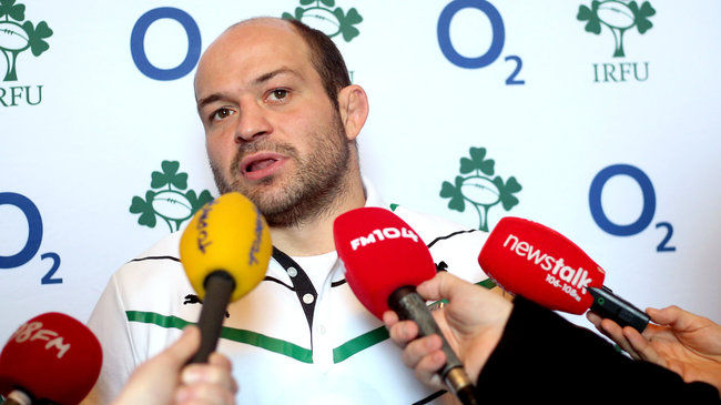 Ulster and Ireland's Rory Best