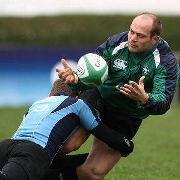 Ulster and Ireland hooker Rory Best