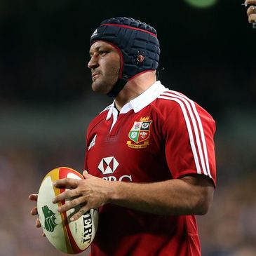 Lions hooker Rory Best