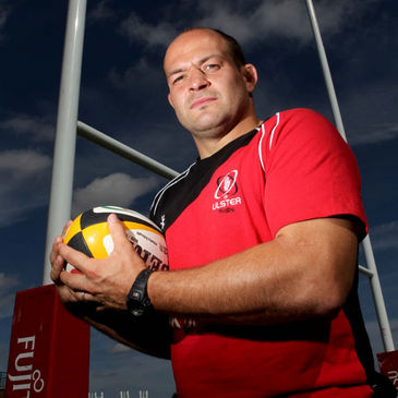 Ulster team captain Rory Best